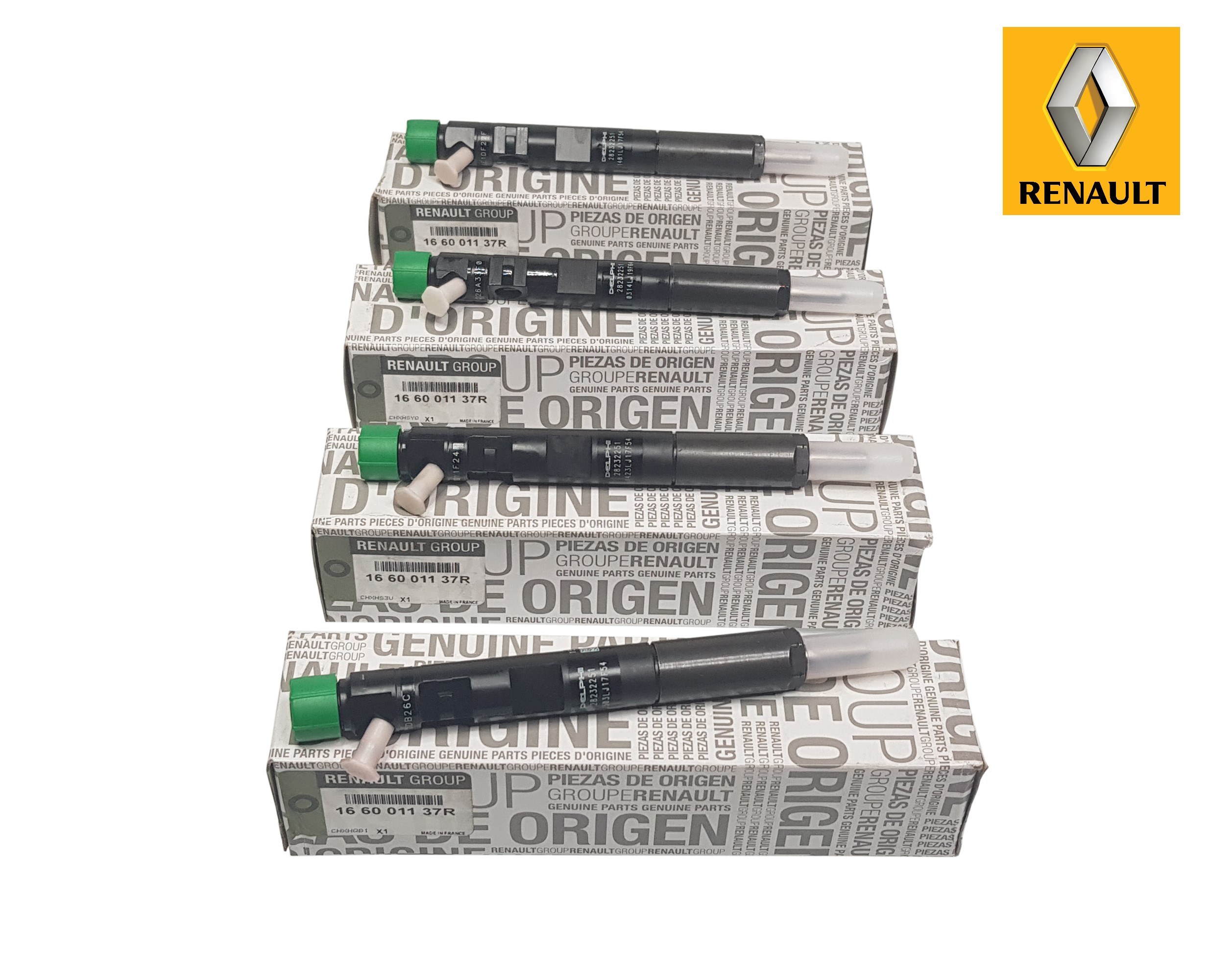 Renault ORIGINAL Einspritzd/üse Injektor 1.5 DCI 166001137R