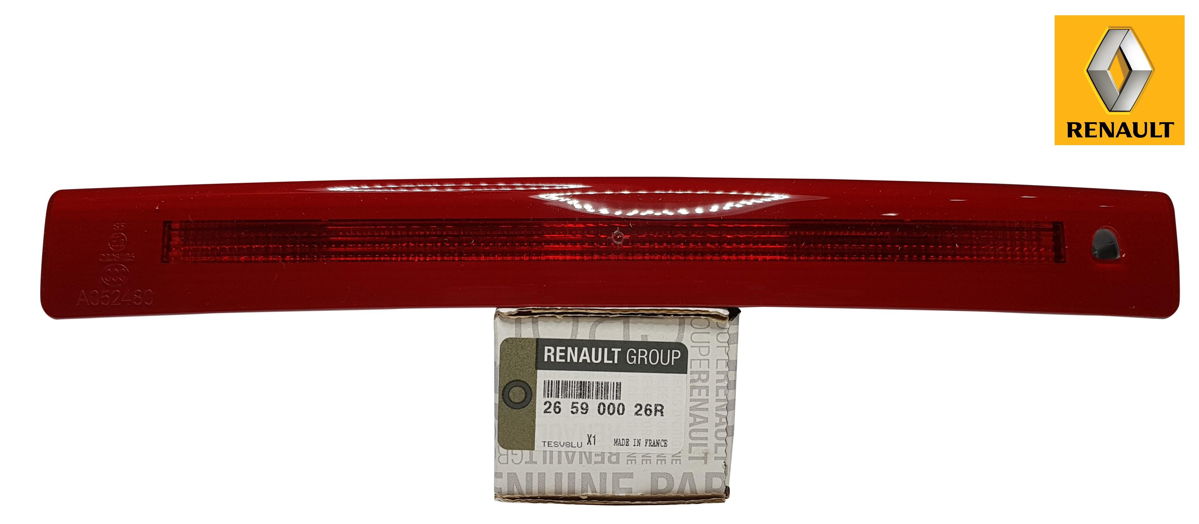 Zusatz Bremsleuchte Grand Scenic III 265900026R original Renault Bremslicht 3