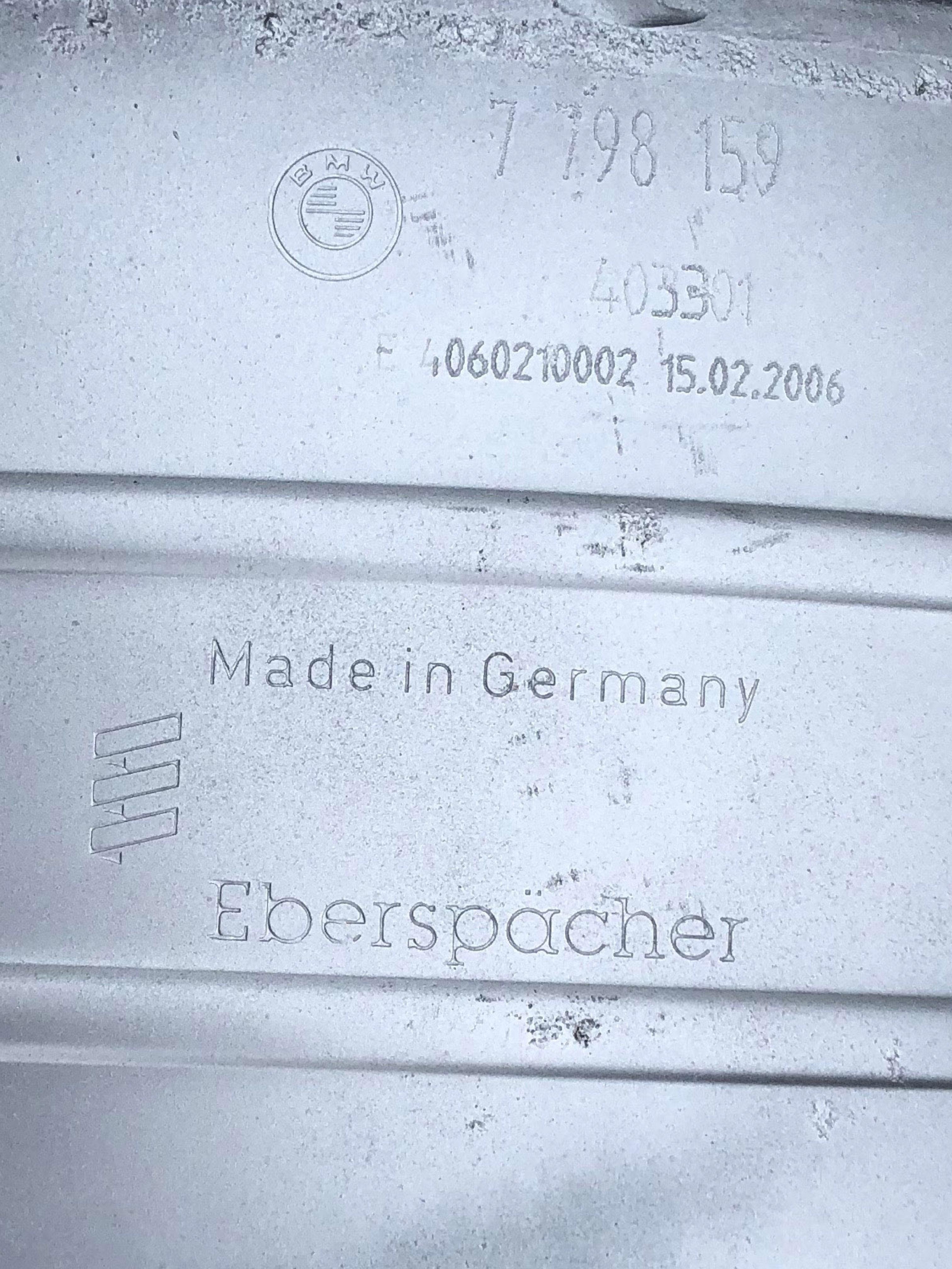 Original DPF Dieselpartikelfilter BMW X3 2 0d 520d M47N2 E60 E61 E83